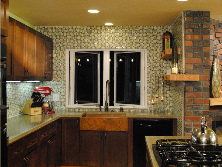 Copper Kitchen Remodel