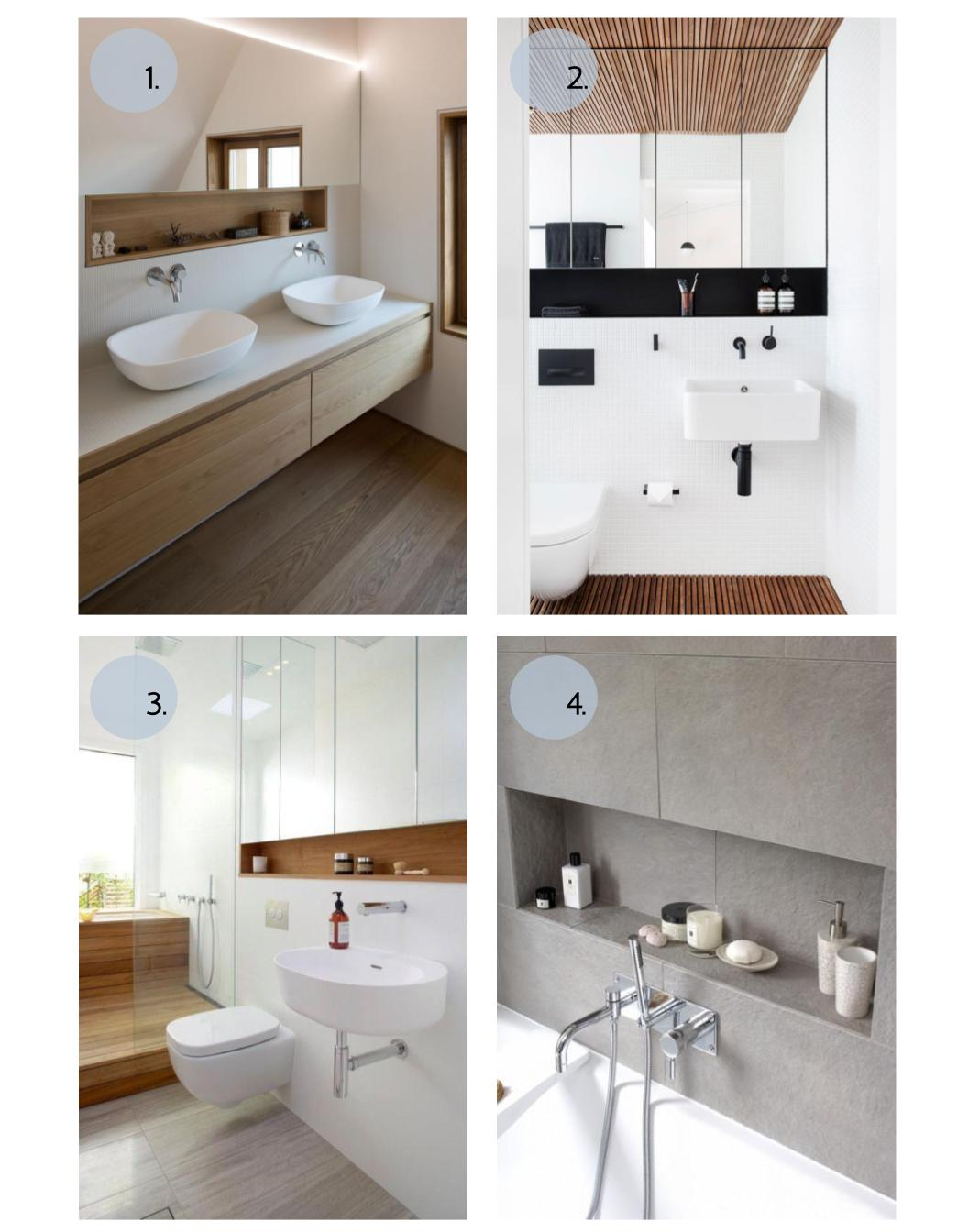 4 Amazing Design Options for your Bathroom Vanities