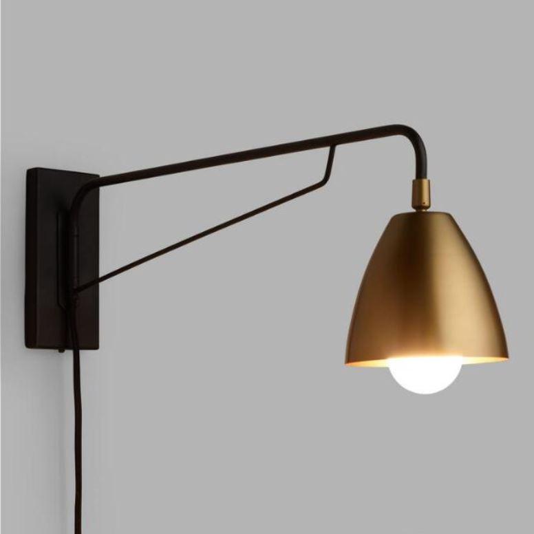 wall mounted bedside lights